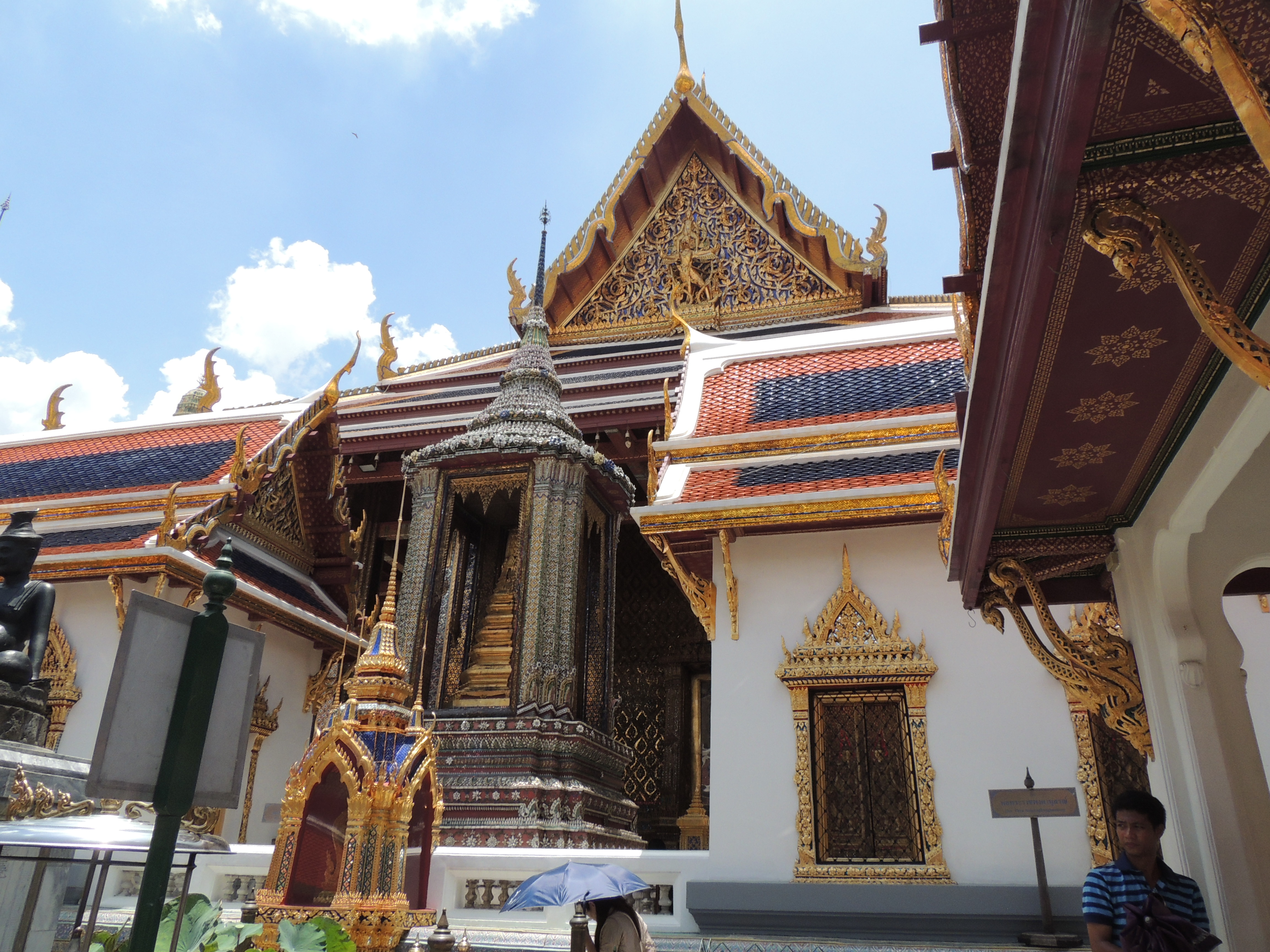 Entrance to the SHrine of the Emerald Buddha