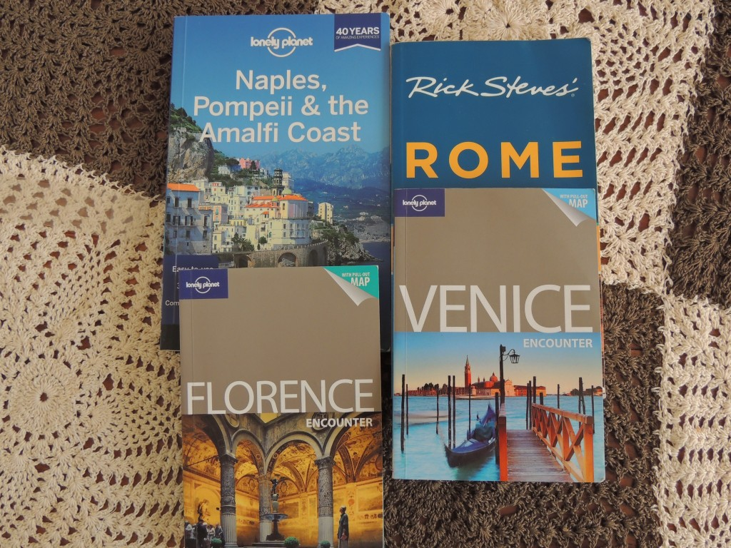 Lonely Planet Florence, Rome, Venice and Naples