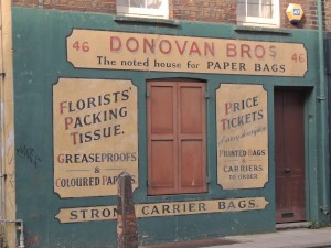 An Irish Legacy - This paper bags factory was beside a nut importers once upon a time