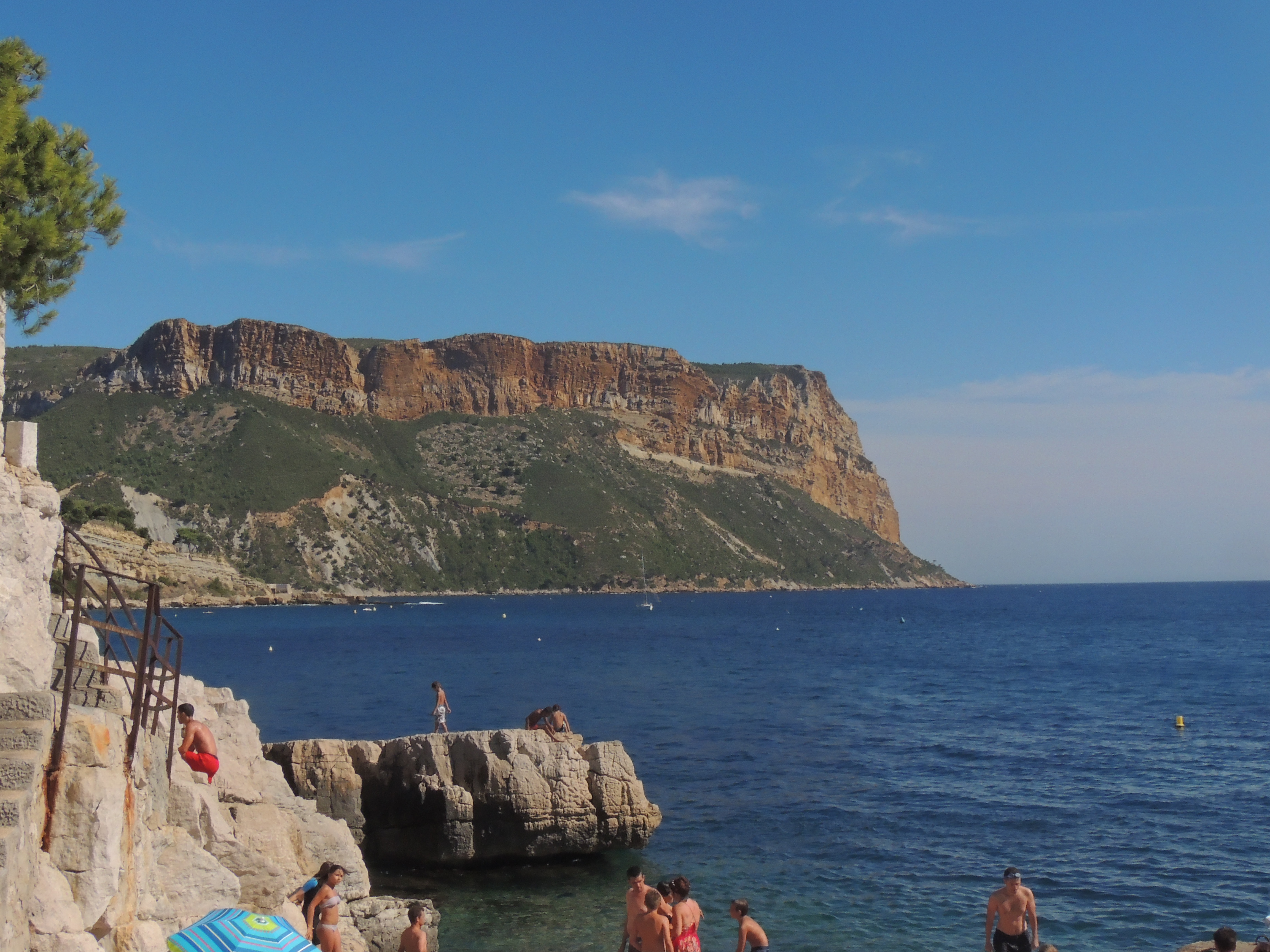 From the beach at Cassis