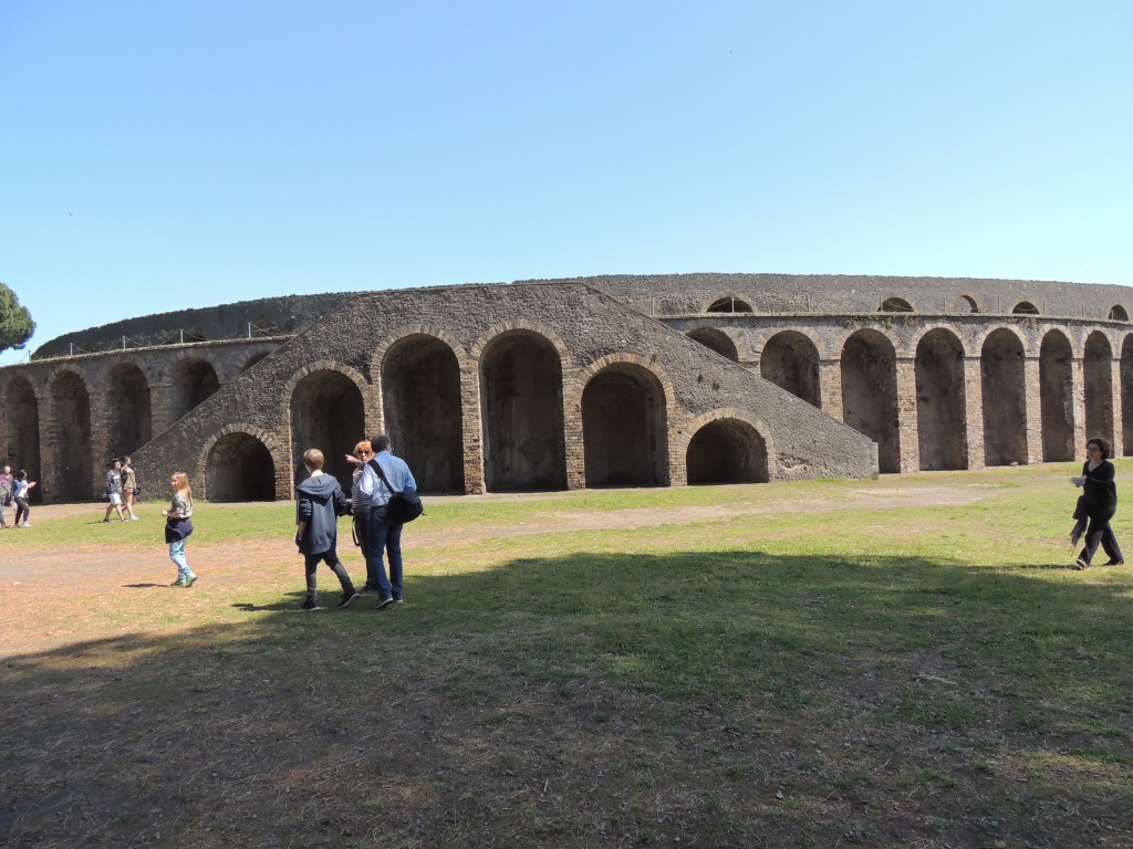 The Amphitheatre where Pink Flyoyd had a concert in 1972