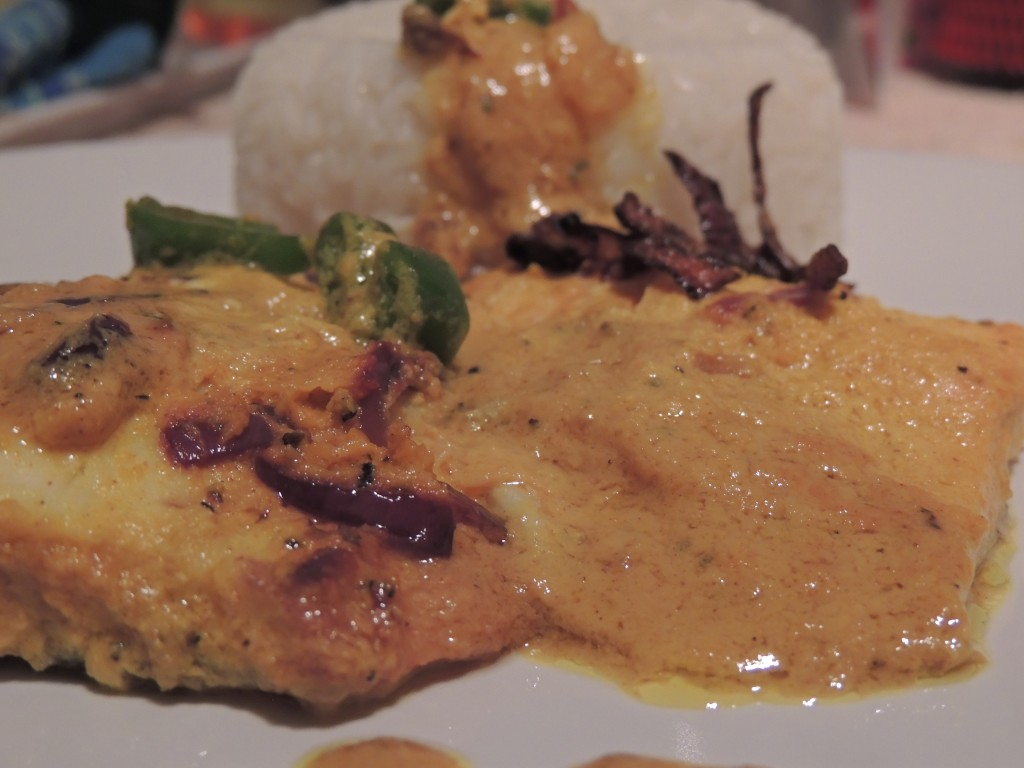Fish maille recipe mailleflavours drifting traveller for Creamy sauce served with fish
